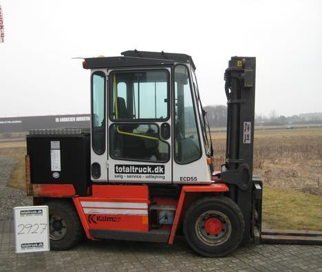 Kalmar – ECD55-6 – El-truck – 5500 kg / 600 mm lastcenter