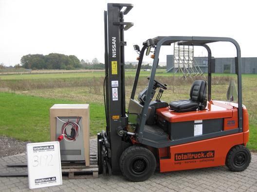 Nissan – GQ02L25CU – El-truck – 2500 kg / 500 mm lastcenter