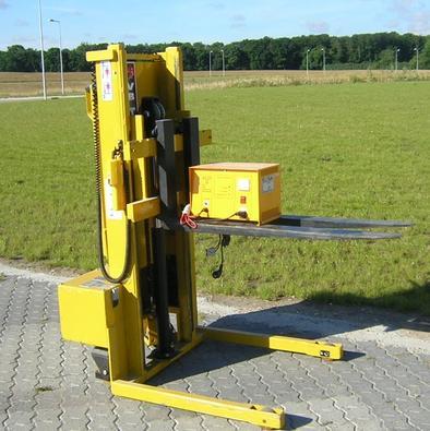 Manuel stabler med El-hejs – VB MSS 500 – Stabler – 500 Kg / 500 mm lastcenter