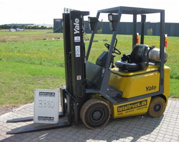 Yale – GLP16AF – Gastruck – 1600 kg / 500 mm lastcenter