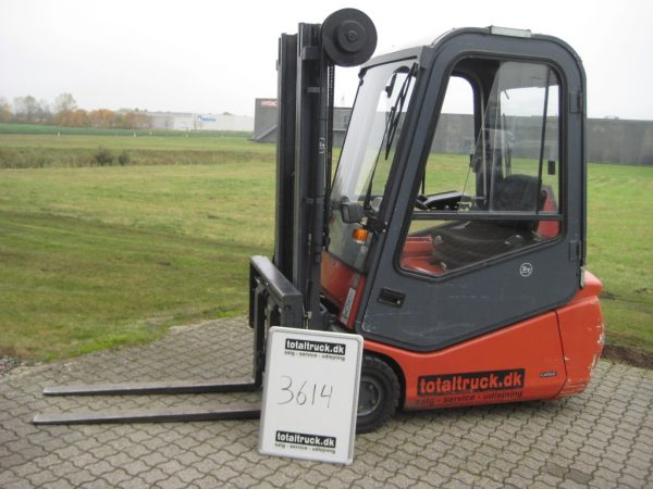 BT/Cesab – CBE16T – El-truck – 1600 kg / 500 mm lastcenter