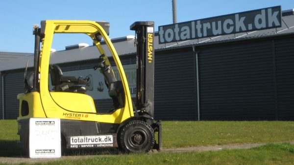 Hyster – H1.8FT – Gastruck – 1800 kg / 500 mm lastcenter