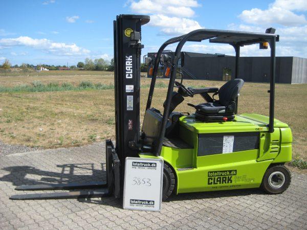 Clark – GEX30 – El-truck – 3000 kg / 500 mm lastcenter