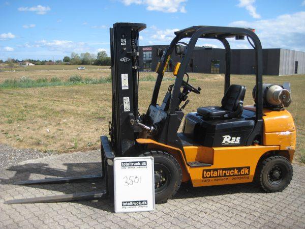 Hangcha – CPYD25N-RW7 – Gastruck – 2500 kg / 500 mm lastcenter