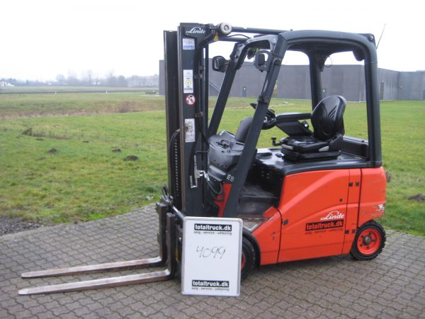Linde – E18HP-01 – El-truck – 1800 kg / 500 mm lastcenter