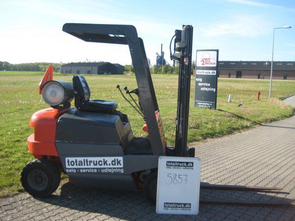 Linde – H15T – Gastruck – 1500 kg / 500 mm lastcenter
