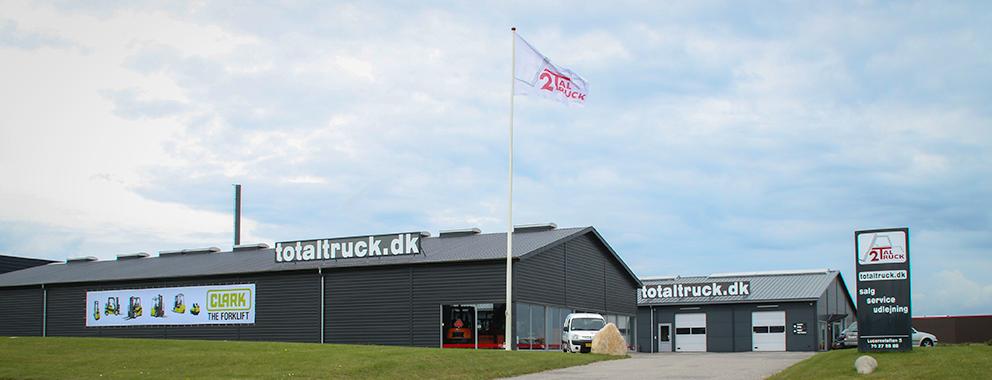 TotalTruck A/S - Gaffeltruck leverandør nær Odense