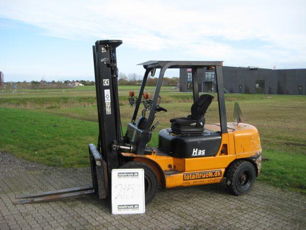 Hangcha  – CPCD35HBW13 – Dieseltruck – 3500 kg / 500 mm lastcenter