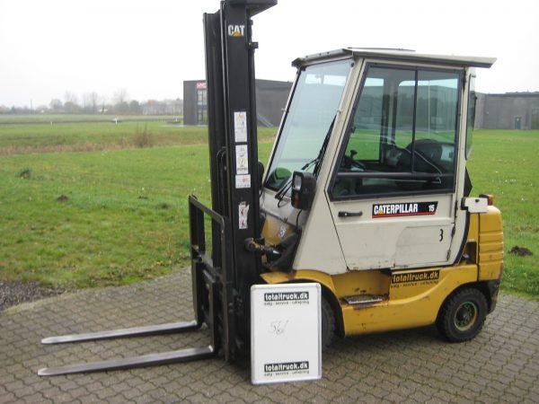 Caterpillar – DP15 – Dieseltruck – 1500 kg / 500 mm lastcenter